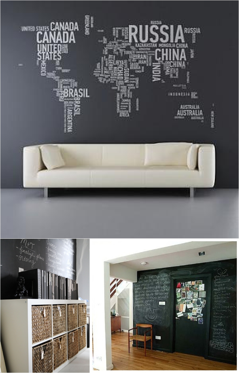 Office inspiration masculine decor paper vines for Office inspiration